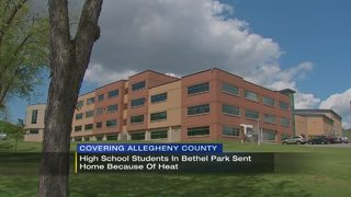 Bethel Park students dismissed early due to hot classrooms