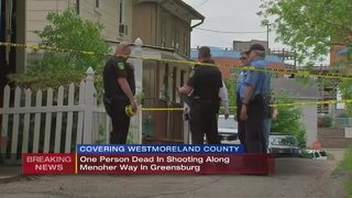 1 dead after shooting at Greensburg home