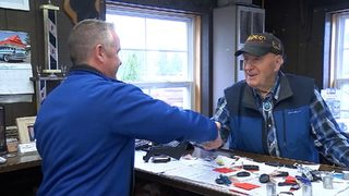 95-year-old salesman refuses to retire