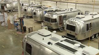 Airstream sales booming thanks to millennials