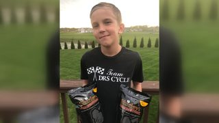 Indiana boy sells popcorn to pay for grandfather