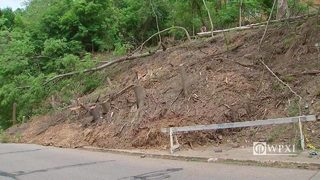 RAW VIDEO: Stranahan Street landslide
