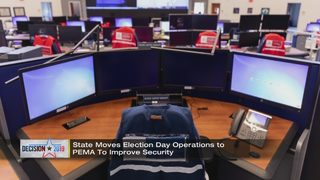 State enhancing security for primary election day