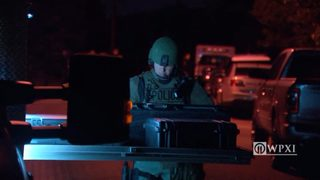 SWAT standoff in Lincoln Borough