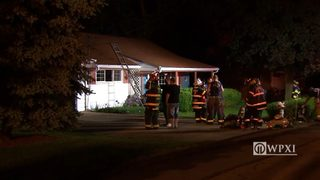 Brothers escape fire that filled home with smoke