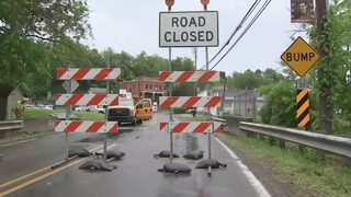 Major road between Allegheny, Washington counties shut down