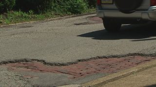 Drivers fed up with potholes on Millvale road