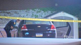 Police investigating car at Mercy Hospital