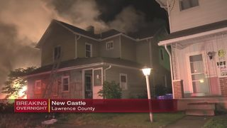Police searching for people who live in home that caught fire