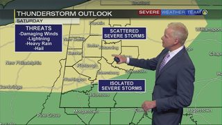 Storms possible Memorial Day weekend