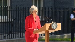 UK Prime Minister Theresa May announces resignation