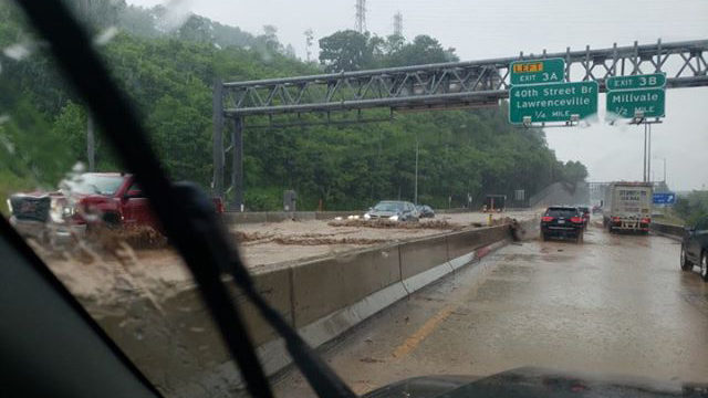 ROUTE 28 FLOODING: What caused the flooding on Route 28? | WPXI