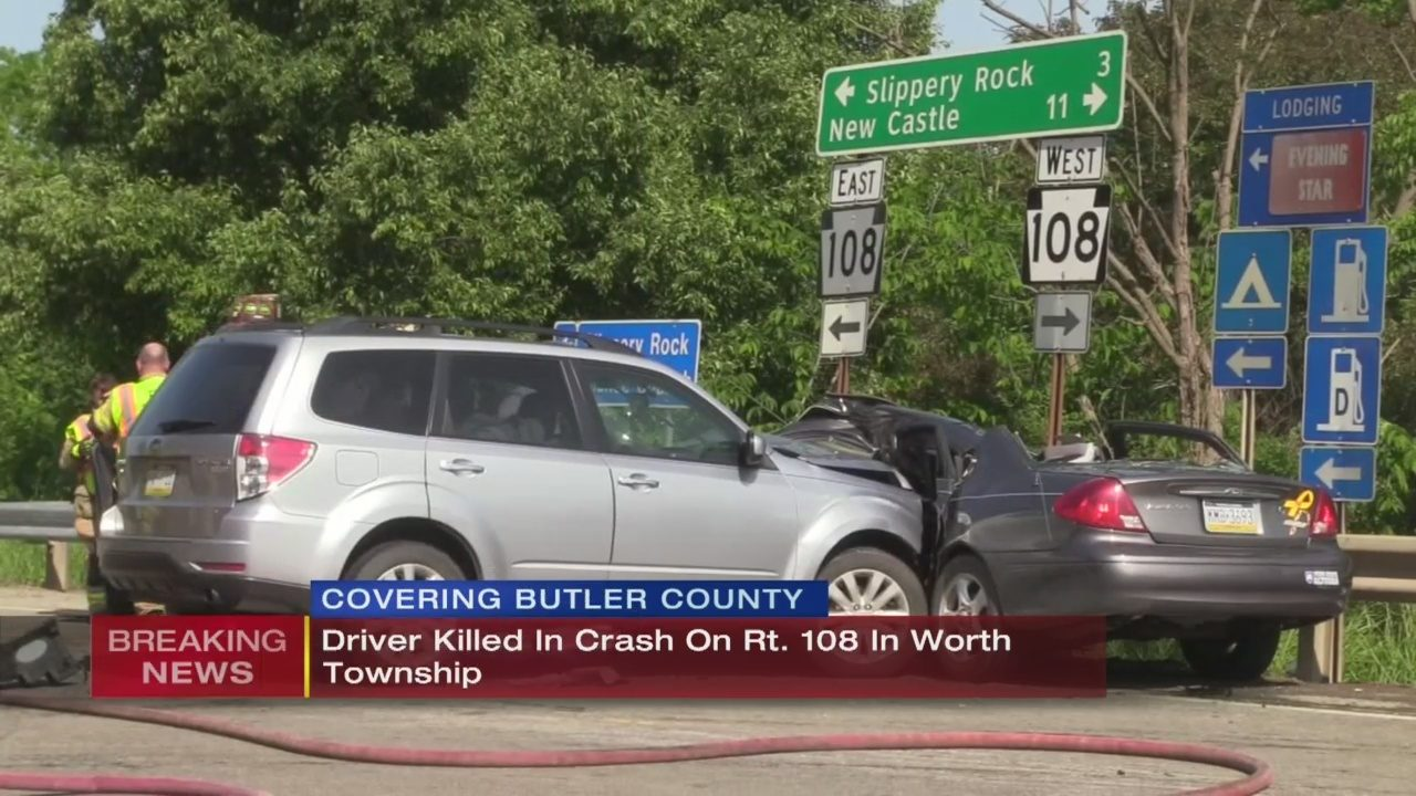 BUTLER COUNTY CRASH: Driver killed in Butler County crash after