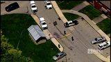 A shooting in the Harrison Village neighborhood of McKeesport.