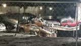 Owners of rare, luxury cars involved in warehouse fire get a look at damage