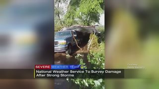 National Weather Service to conduct storm damage survey on Monday