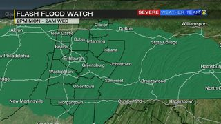 Flash Flood Watch to go into effect as heavy rain moves through