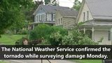 NWS confirms EF1 tornado touched down