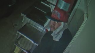 Police searching for man caught on surveillance video burglarizing restaurant