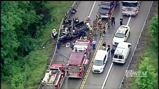 RAW VIDEO: Fatal crash in Fayette County