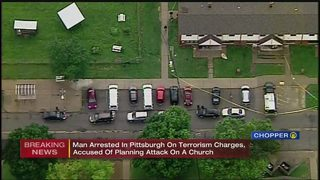 Man arrested for allegedly planning terror attack on local church