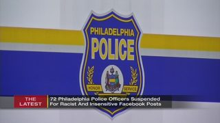 72 Pa. officers off streets amid probe into social media posts