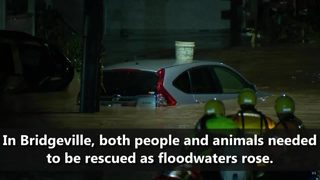 One year anniversary of flooding in South Hills