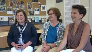 Three sisters retiring from teaching at the same time