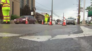 Water main break leaves homes, businesses without water in Canonsburg