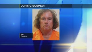 Man accused of trying to lure young girl into his van