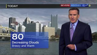 Clouds moving out Tuesday (6/25/19)