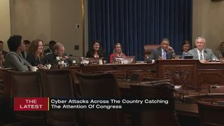 Cyber attacks across the country catching the eye of Congress