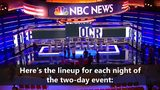 NBC Democratic debate preview