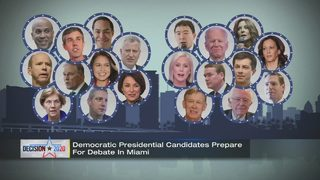 Preparations underway for first Democratic National Committee debate of 2020 election