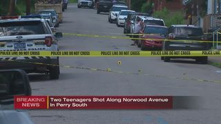 2 teens shot in Pittsburgh