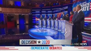 First Democratic presidential debate