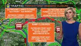 TRAFFIC: Outbound Parkway East weekend closure (6/26/19)