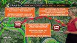TRAFFIC - Parkway East weekend closure