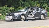 2 people seriously hurt when tree falls onto car on Washington Boulevard