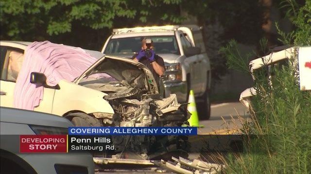 SALTSBURG ROAD CRASH: Crash leaves 1 driver dead, another