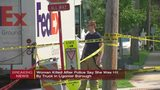 Woman killed after being pinned beneath FedEx truck