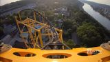 Take a ride on the new Steel Curtain roller coaster at Kennywood!