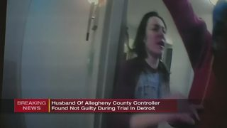 Husband of Allegheny Co. Controller found not guilty in hotel incident