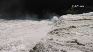 Rafters rescued after plunging over falls at Ohiopyle
