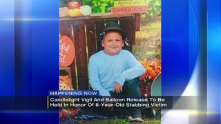 Vigil held for 8-year-old killed by mother