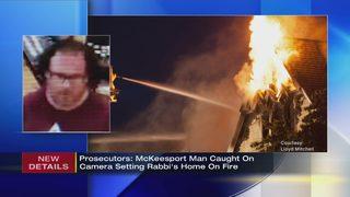 Prosecutors: McKeesport man caught on camera setting rabbi
