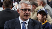NEWARK, NJ - JUNE 30: Vice President of Hockey Operations Ron Francis of the Carolina Hurricanes looks on during the 2013 NHL Draft at the Prudential Center on June 30, 2013 in Newark, New Jersey. (Photo by Bruce Bennett/Getty Images)