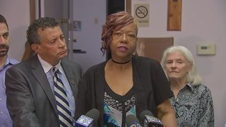 Black Political Empowerment Project holds news conference about officer Calvin Hall