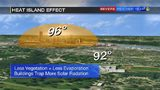 Why is it always hotter in downtown Pittsburgh? It's called the heat island effect