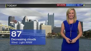 Clouds decreasing Thursday ahead of hottest weather of the year